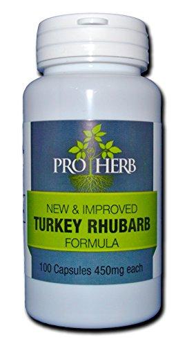 - Pro Herb, Turkey Rhubarb 450mg, 100 Capsules