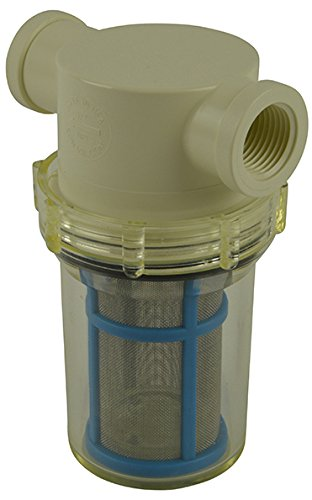 1/2'' Female NPT In-line Strainer with 50 mesh stainless steel screen by VacMotion Inc.