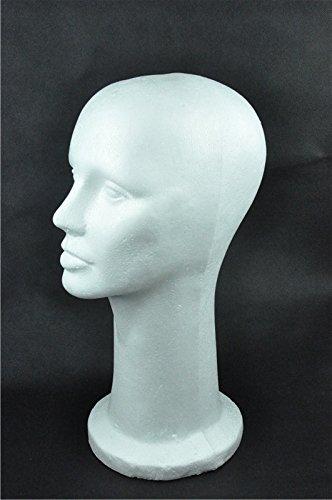15-styrofoam-foam-mannequin-manikin-display-head-wig-hat-stand-white-foams