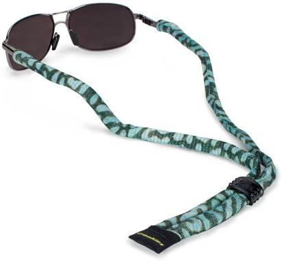 Fly Fishing Croakies Micro Suiters Eyewear Retainer in Black