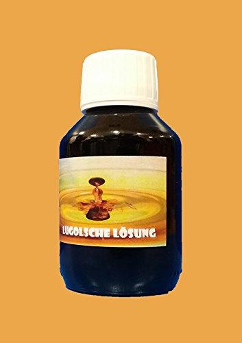 100 ml Lugolsche Lösung 5% IOD Tinktur mit Kaliumjodid Jod ! Lugol `sche