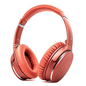 Active Noise Cancelling Stereo Headphones Bluetooth 5.0, Srhythm NC25 ANC Headset Over-Ear with Hi-Fi,Mic,50H Playtime…