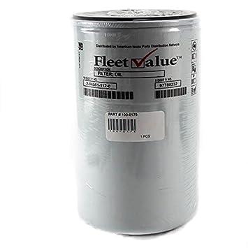 Filtro de aceite para Isuzu NPR NQR 3.9L 4bd2 92 - 97 valor de la Flota: Amazon.es: Coche y moto