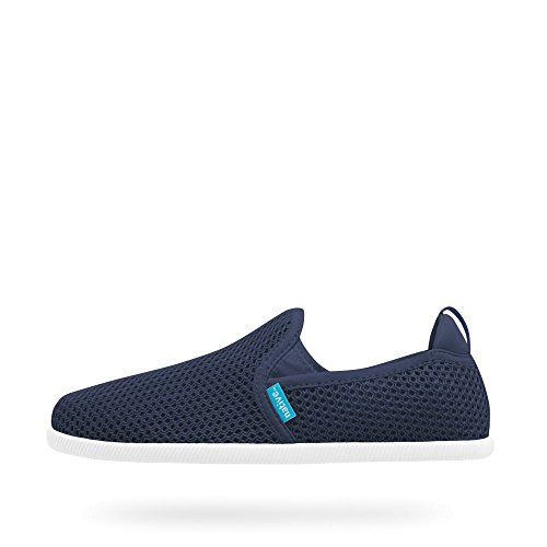 Native Shoes , Damen Sneaker blau blau Regatta Blue-Shell White