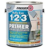 Zinsser Bulls Eye 1-2-3 128 Oz Water-Base Interior/Exterior PrimerandSealer 2-Pack