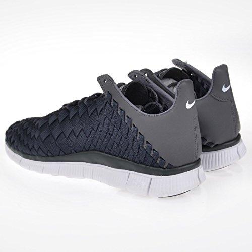 Nike Zapatillas de Material Sintético Para Hombre, Color Gris, Talla 22
