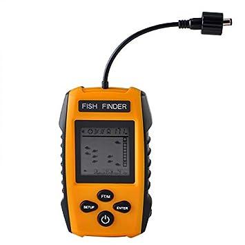ZHJIUXING HO Buscador de Peces portátil con Sensor de Sonar ...