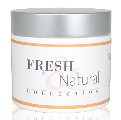 Fresh & Natural Skin Care Super Fruit Whipped Body Souffle Moisturizing Cream Lotion, Goji Berry/Tarocco Orange, 4 Ounce