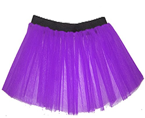 donne 80 esprimere Viola Fluo gonna assetto Tutu gonna in del La balletto Neon partito tulle Tutu fEwa5ZnqdW