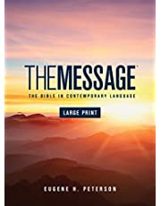 The Message Large Print (Hardcover): The Bible in Contemporary Language