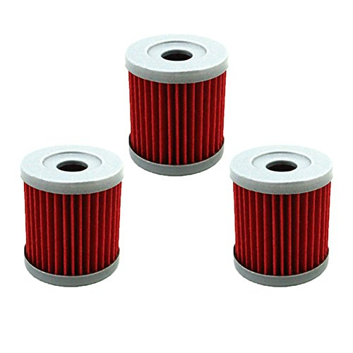 TC-Motor 3pcs/Pack Fuel Filters Oil Filter For Dirt Motor Bike Motorcycle ARCTIC CAT TS DVX400 2006 2007 KFX400 2003-2006 (Suzuki Drz 400 Oil Filter)