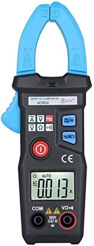 Gulakey インテリジェントデジタルクランプメーター、マルチテスターを測定ACM24プロフェッショナルマルチメータAC電流電圧抵抗