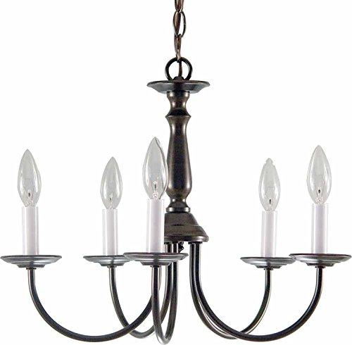 - Volume Lighting V4515-79 5-Light Chandelier, 18