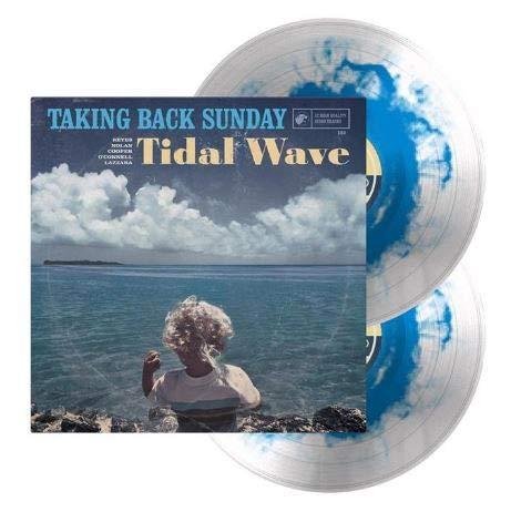 Tidal Wave Limited Edition Clear w Transparent Blue 2LP NEW Tulsa Mall Haze V