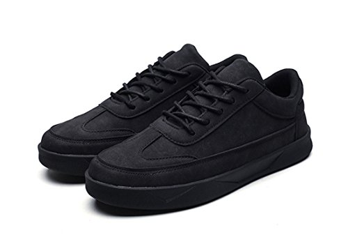 Mens Outdoor Sport Running Walking Shoes Lightweight Casual Sneakers 602 Black IxUWSwBlrX
