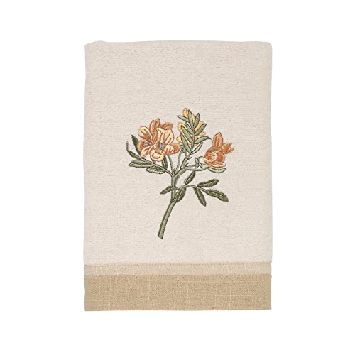 Avanti Linens Alana Wash Towel, Ivory