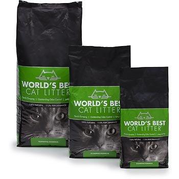 World's Best Cat Litter Clumping Formula, 14 lbs., My Pet Supplies