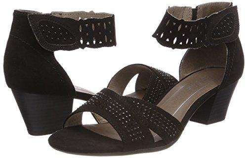 Sandals Softline Black Ankle Strap Women''s 28363 xwUHO1Cq