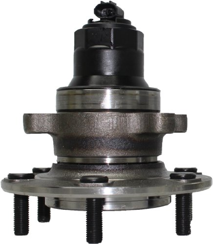 Detroit Axle - Front Wheel Bearing & Hub Assembly Driver or Passenger Side fits 2002-2004 Isuzu Axiom 2WD - [02-04 Rodeo 2wd] - 02-03 Rodeo Sport 2wd - [02 Honda Passport 2WD] by Detroit Axle
