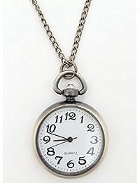 GG Pinkey Unisex Classic Simple Round Mini Pocket Watch