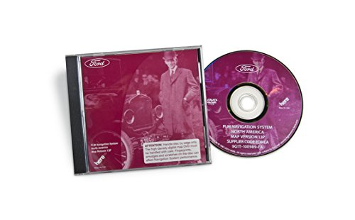 Ford, Lincoln and Mercury- North America Map Update DVD v 13P