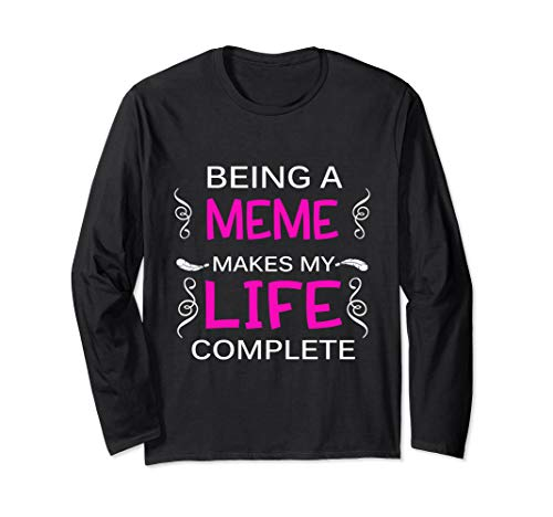 They Call Me Meme Too Cool Grandmother Long Sleeve T-Shirt