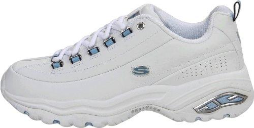 Mujer Zapatos Premium Deportivos Us Sport Blanco Skechers 8 gEqfW