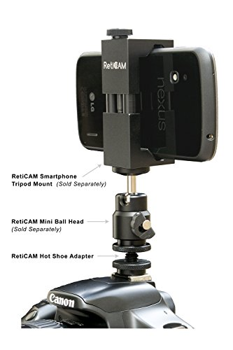 297fc1588f Amazon.com   RetiCAM® Hot Shoe to Tripod Screw Adapter - Flash Shoe Mount  for Camera