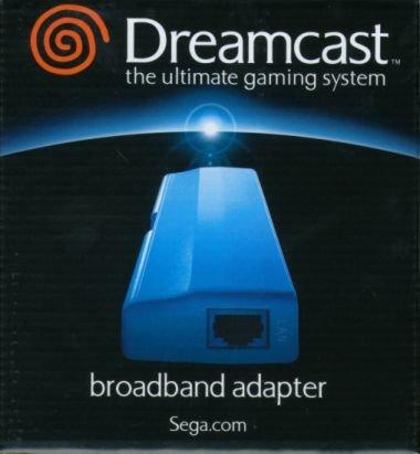 Dreamcast用LANアダプタ「ブロードバンドアダプタ」
