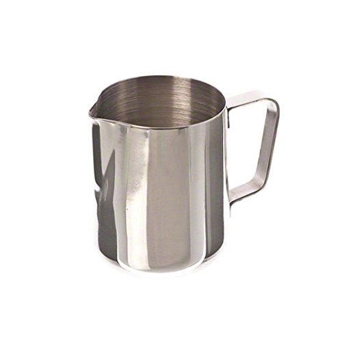 2000ml Stainless Steel Coffee Milk Pitcher Frothing Cup - SILVER - 9
