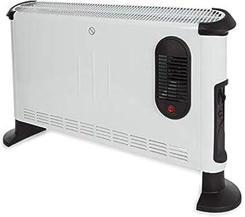 Turbo Konvektor 2000 Watt 3 Heizstufen Heizstrahler Heizger/ät Thermostat Elektro Heizung Mini Heizung /Überhitzungsschutz Elektroheizung