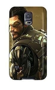 Mary P. Sanders's Shop New Style New Tpu Hard Case Premium Galaxy S5 Skin Case Cover(deus Ex Human Revolution Directors Cut) 3535369K40692509