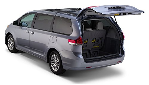 Auto Ventshade 34015 Rear Bumper Protector, OE Style for 2011-2018 Toyota Sienna