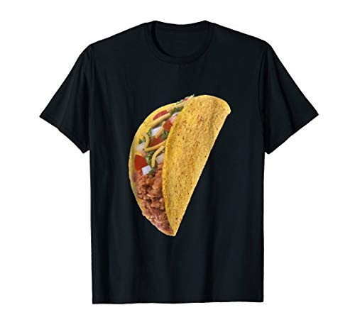 Taco Funny Halloween costume shirts matching couples ()