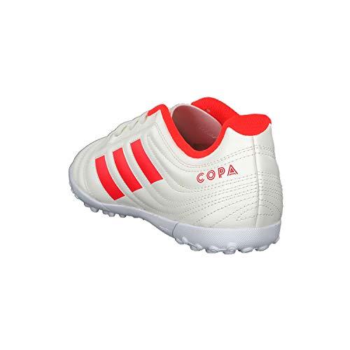 4 De Botas Blanc J rouge Unisex Cassã 19 blanc Fútbol Adidas Tf Solaire Niños Copa E4HvYw