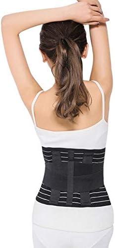 ウエストサポート 下 バック サポート 調整可能 にとって 疼痛 安心 ウエスト バック 女性たち そして 男性 と 通気性メッシュ (Size : M)
