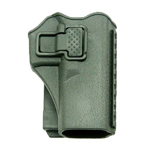 JINJULI Tactical Right Hand Waist Gun Holster,MOLLE Vest Pistol Holster