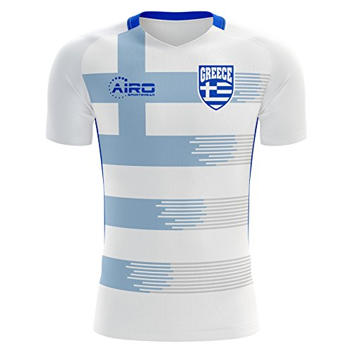 Airo Sportswear 2018-2019 Greece Home Concept Football Soccer T-Shirt Jersey