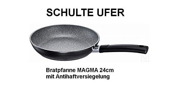 Sartén (revestimiento Magma I 24 cm inducción Schulte-Ufer: Amazon ...