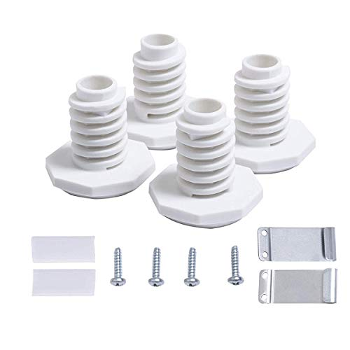 (W10869845 Stack Kit Replacement for Whirlpool Standard and Long Vent Dryer W10298318RP 1862761 52774)