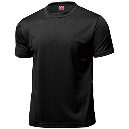 - Wundou Men's Dry light Sports T-shirts P330 XL Black