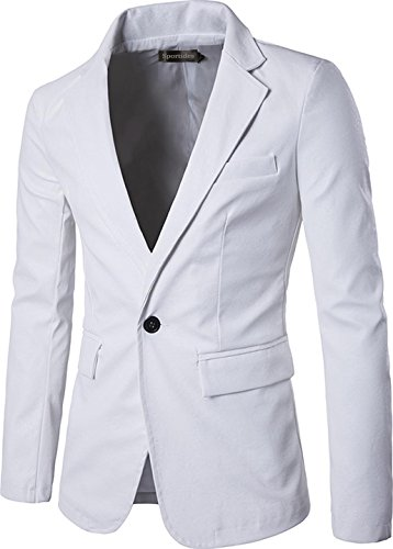 White Motorcycle Suit - 2
