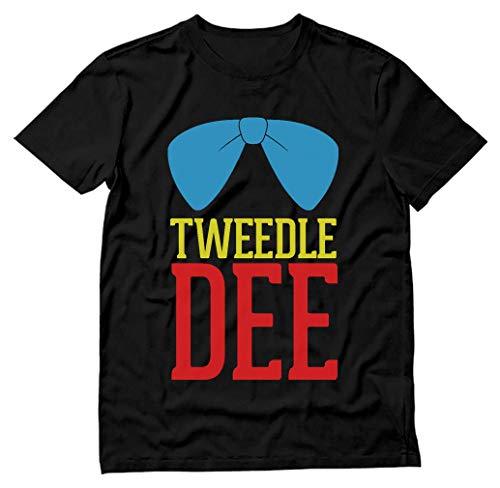 Tweedle Dee - Funny Matching Couples Gift Men's Black Large T-Shirt