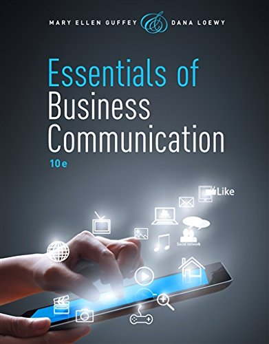 Essentials of Business Communication (with Premium Website, 1 term (6 months) Printed Access Card) (MindTap Course List)