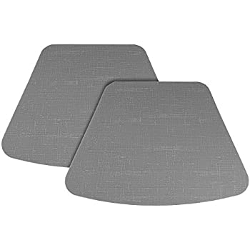High Quality Bakingfun Silicone Mat For Round Table Dining Table Placemat (Set Of 2),  Gray