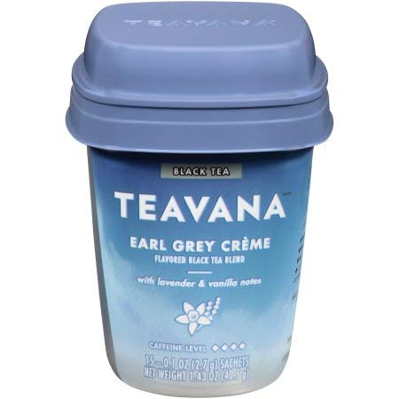 Teavana Earl Grey Crème Flavored Black Tea Blend, 15 Tea Bags,(total 1.96oz), pack of 1 ()