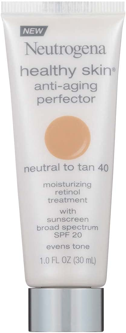 Neutrogena Healthy Skin SPF 20 Natural to Tan Anti Aging Perfector, 1 Ounce – 36 per case.