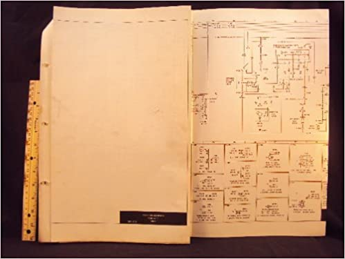 1973 73 ford f100, f150, f250, & f350 truck electrical wiring diagrams  manual ~original loose leaf – january 1, 1973