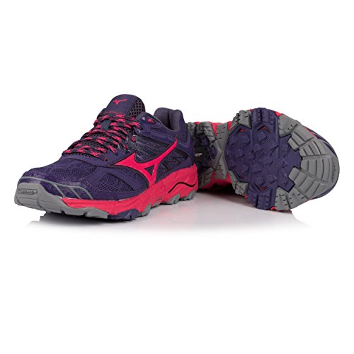 Wos Chaussures Mizuno Mujin de Wave 4 Femme pink Running Ptwfq1Aw