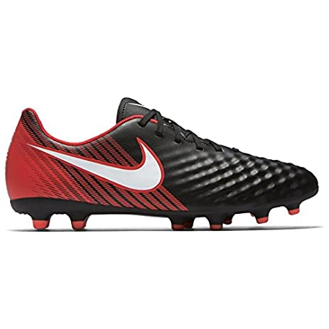 Magista Ola II FG Football Boots - Black/White/Red